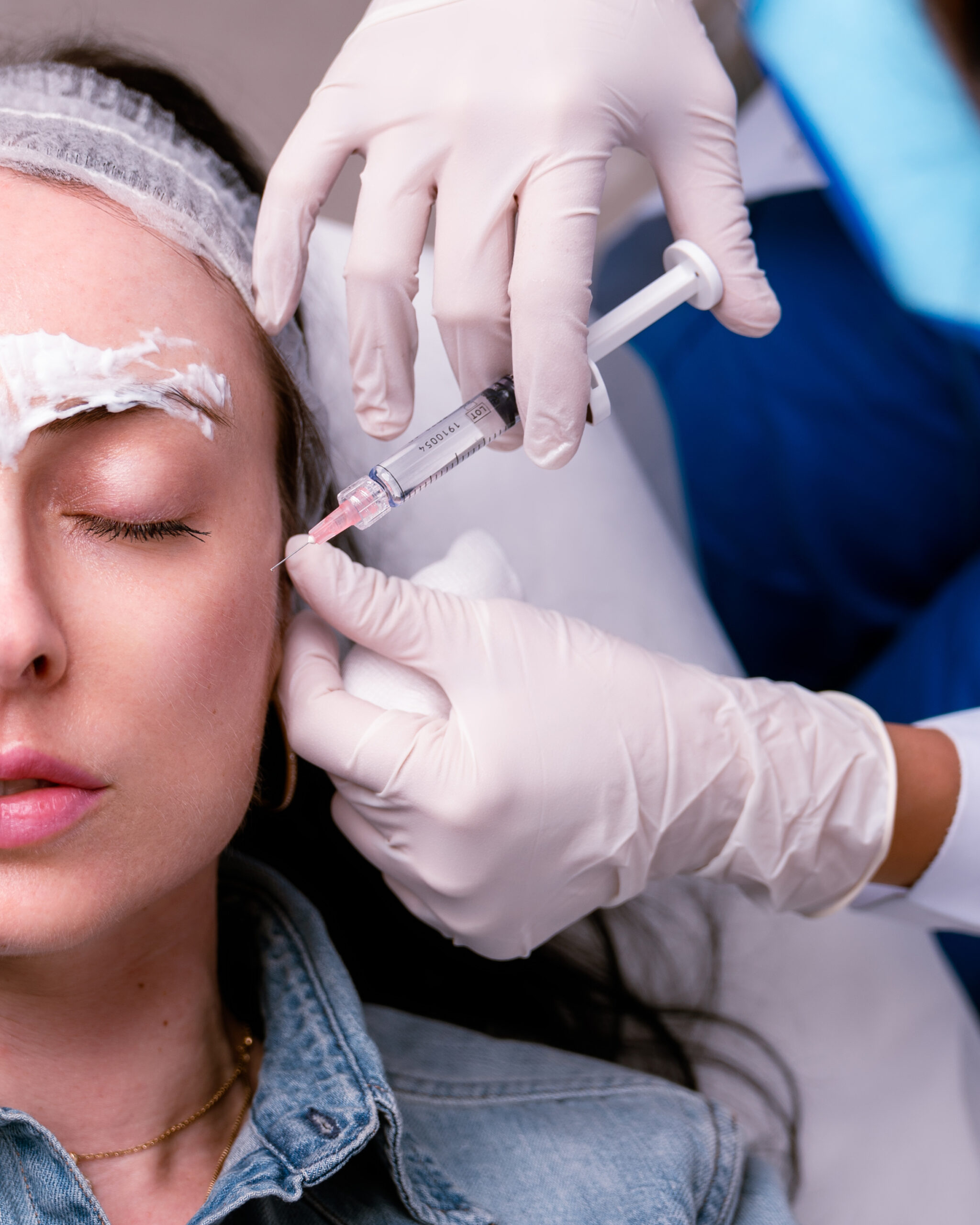 Beautuition Courses - view of dermal fillers being injected